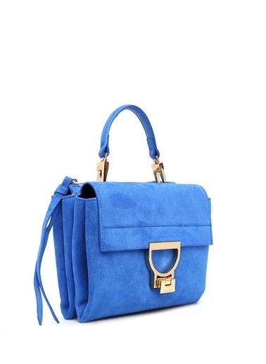 Coccinelle Messenger / Askılı Çanta Mavi